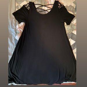 Forever 21 Contemporary XL Black Dress
